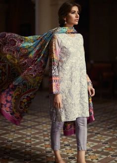 Zara Shahjahan Lawn 2016 Replica Design 114ZS