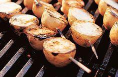Kartoffel-Spieße vom Grill : das Rezeptportal von naturkost.de - bio, vollwertig, vegetarisch