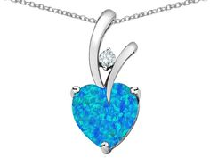 Star K 8mm Heart Shape Love Pendant ** Insider's special review you can't miss. Read more  : Jewelry