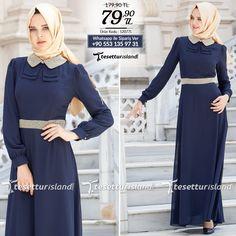 FY Collection - Lacivert Elbise #tesettur #tesetturabiye #tesetturgiyim #tesetturelbise #tesetturabiyeelbise #kapalıgiyim #kapalıabiyemodelleri #şıktesetturabiyeelbise #kışlıkgiyim #tunik #tesetturtunik