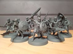 """Duncan Rhodes on Twitter: """"The result of converting after a chat with Chris Peach, Freeguild Spearman to back up the Golden Suns! https://t.co/T6sKuq4dkB"""""""