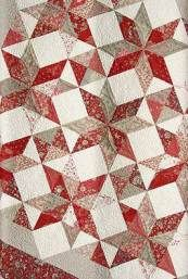 French General fabrics - I LOVE them! Plus I also love this star medallion, it's one of my favorites.