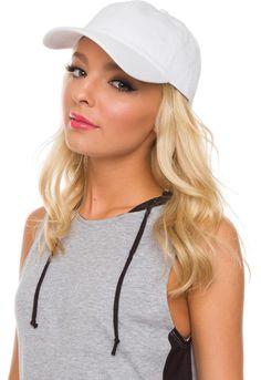 Cassidy Hat - White