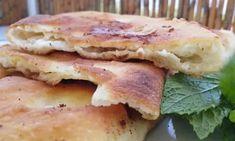 Πολύ όμορφα και πάρα πολύ νόστιμα τηγανόψωμα με φέτα - εξαιρετικά αφράτα Cheese Bread, Greek Recipes, Mashed Potatoes, Nutella, Pancakes, Sandwiches, Cheesecake, Meals, Cream