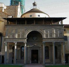 Pazzi Chapel, Firenze