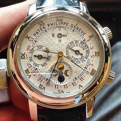 White Gold Patek Philippe with Chronometers. Presenting the finest Men's Watches collection inspiration sharing. Best gift for men in fine suits. White Gold Patek Philippe with Chronometers. Presenting the finest Men's Watches colle Amazing Watches, Beautiful Watches, Cool Watches, Rolex Watches, Unique Watches, Dream Watches, Wrist Watches, Patek Philippe, Men Accessories