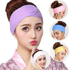 Turbante Suave E-More 8 Piezas Diadema el/ástica con Orejas de Gato algod/ón Lavado de Cara o Ducha para Mujer Accesorio de Maquillaje