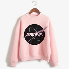 Pretty Outfits, Cool Outfits, Ariana Merch, Pink Fashion, Fashion Outfits, Nasa Clothes, Ariana Grande Outfits, Cute Sleepwear, Cute Outfits For School