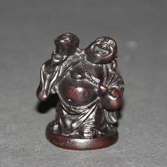Lachende Boeddha wierookhouder, polystone, 5cm (62-A) - Online bestellen