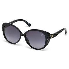 58e8f890daaa Swarovski Sunglasses SK0068_01A Swarovski Sunglasses, Swarovski Jewelry,  Nice, Luxury, How To Wear