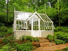 Very cool greenhouse.