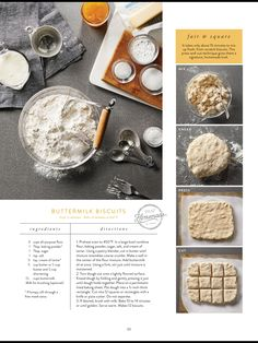 """Joanna Gaines' """"Biscuits and Jam"""" ♥ The Magnolia Journal, Summer 2017 Brunch Recipes, New Recipes, Breakfast Recipes, Cooking Recipes, Favorite Recipes, Scones, Buttermilk Biscuits, Biscuit Recipe, Joanna Gaines"""