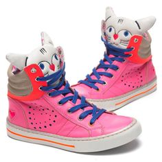 Amazing kitty cat sneaks. #girls #accessories #fashion #estella