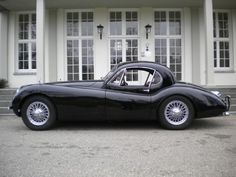E-Type Center - 1953 Jaguar XK120 FHC SE