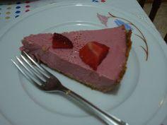 Torta Musse de Morango.