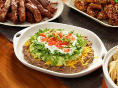Minus cheese, yogurt, chips - Get Six Layers and a Chip Dip Recipe from Food Network