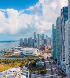 The Miami Skyline Miami Skyline, New York Skyline, Atlantic Ocean, Photoshoot Inspiration, City Lights, Continents, North West, San Francisco Skyline, Alaska