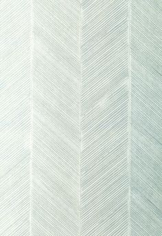 Wallcovering / Wallpaper | Chevron Texture in Mineral | Schumacher
