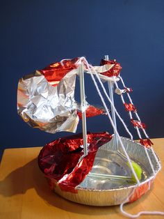 I love how all the kids came up with their own version of a boat - and all proved to be sea-worthy