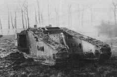 """WWI Heavy Tank w/Rear Mortar Mark.IV """"Tadpole"""""""