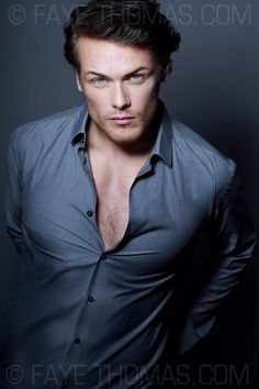 Sam Heughan has been cast to play _the man_ who became a legend before he was 25.