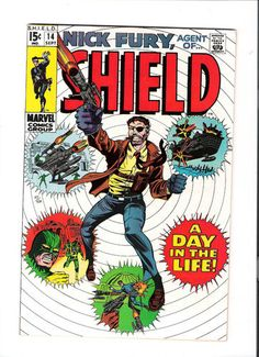 NICK FURY AGENT OF SHIELD #14 Grade 9.0 Silver Age find from Marvel Comics! http://r.ebay.com/linEUs