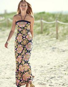 Beach Maxi Dress. Got this for our Hawaiian vacation!