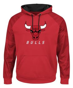 Take a look at this Chicago Bulls Logo Fleece Hoodie - Men's Big & Tall today!