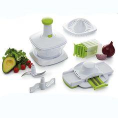 Kitchen Craft 5 in 1 Manual Food Processor | Code: KCHE5IN1 | orders@pjmarketing.co.za | www.pjmarketing.co.za | #kitchencraft #kitchenware