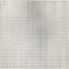 MARTIN, Agnes. Unspecified. (Ref#: 1189 ). 1965. Pen and feather on paper. Size in Cm: 24 x 24.