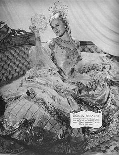 Gambling gown, Norma Shearer as Marie Antoinette (1938) designed by Adrian