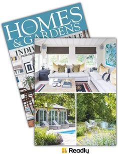 Vorschlag zu Homes and Gardens Magazine April 2016 Seite 85 Home And Garden, Gardens, Homes, Magazine, Outdoor Decor, Home Decor, Magazines, Nice Asses, Houses