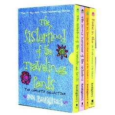 The Sisterhood of the Traveling Pants series by Ann Brashares