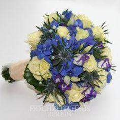 Brautstrauß Blue