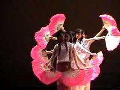 LIC chinese fan dance
