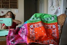 bandana quilt. cute!