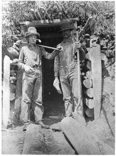 Miners ~ Cripple Creek District ~ Colorado ~ 1901
