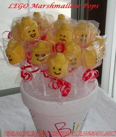 DIY LEGO Head Marshmallow Pops, Building LEGOS with Christ