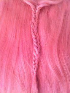 pink braid...cool