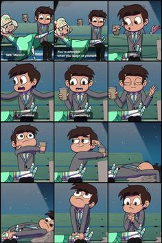 Marco.. my little cinnamon roll.. who should be burned right now cuz I am mad at you Credit @livieblue