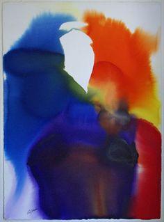 Paul Jenkins : Phenomenon Water Veil - Art Brokerage