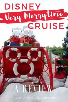 The Disney Cruise Line Very Merrytime Christmas Cruise Review. Everything you need to know about a holiday at sea with Disney Cruise Line. #disneychristmascruise #disneycruiseline Disney Cruise Excursions, Disney Magic Cruise, Disney Fantasy Cruise, Disney Tips, Cruise Travel, Cruise Vacation, Disney Vacations, Family Vacations, Vacation Destinations