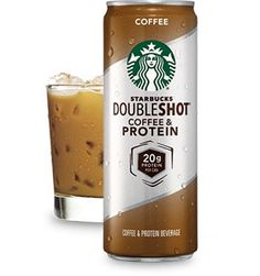 Coffee with protein