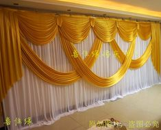 Wide Designs Wedding Stylist Swags For Backdrop Party Curtain Celebration Stage Backdrop D.