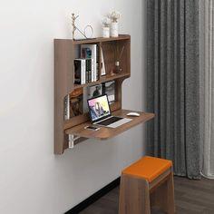 Feminine Apartment, Murphy Desk, Wall Mounted Desk, Folding Desk, Large Desk, Desk Areas, Extra Rooms, Loft Style, Mid Century Style