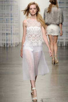 Tess Giberson Spring 2015 Ready-to-Wear - Collection - Gallery - Look 10 - | Le Fevrier |
