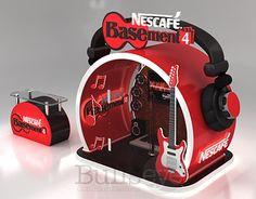 """다음 @Behance 프로젝트 확인: """"Nescafe Basement Audition Booth"""" https://www.behance.net/gallery/28143867/Nescafe-Basement-Audition-Booth"""