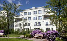 Lassen Sie sich von dem innovativen Wohnkonzept, vereint mit anspruchsvoller Architektur von dem Neubauprojekt Heinrich Heine Gärten Düsseldorf der Frankonia Eurobau Investment Hansaallee GmbH überzeugen.