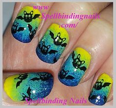 Spellbinding Nails: The Halloween Challenge + ' Things that go bump in the Night! '