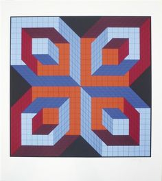 Idom stri by Victor Vasarely